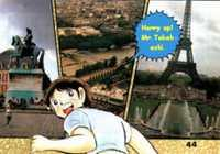 Captain Tsubasa Traveling In Europe