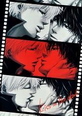 Gintama dj - Kiss in the Dark (Yaoi)