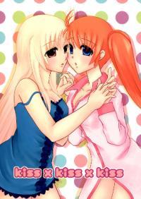 Mahou Shoujo Lyrical Nanoha - Kiss x Kiss x Kiss (Doujinshi)