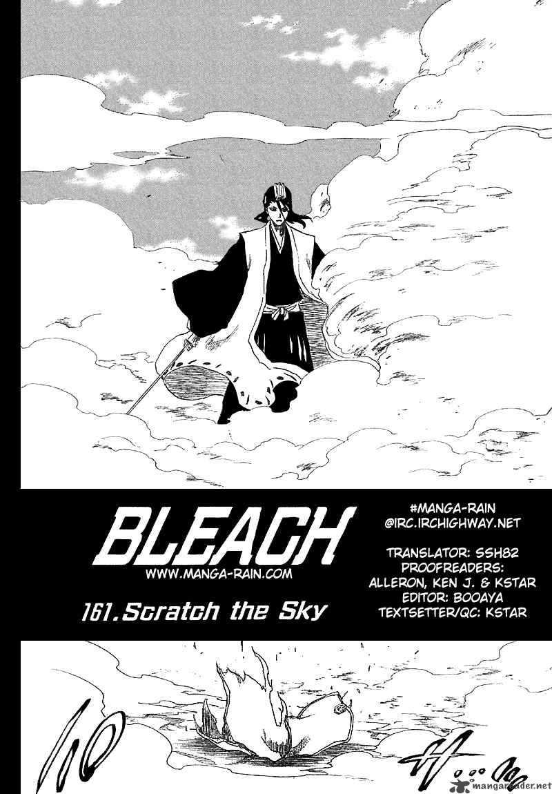Bleach 161 Scratch in the Sky