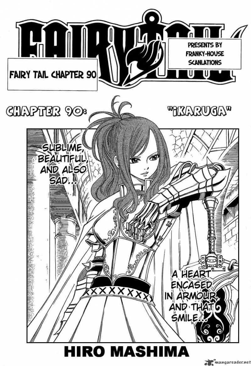 Fairy Tail Ch 90