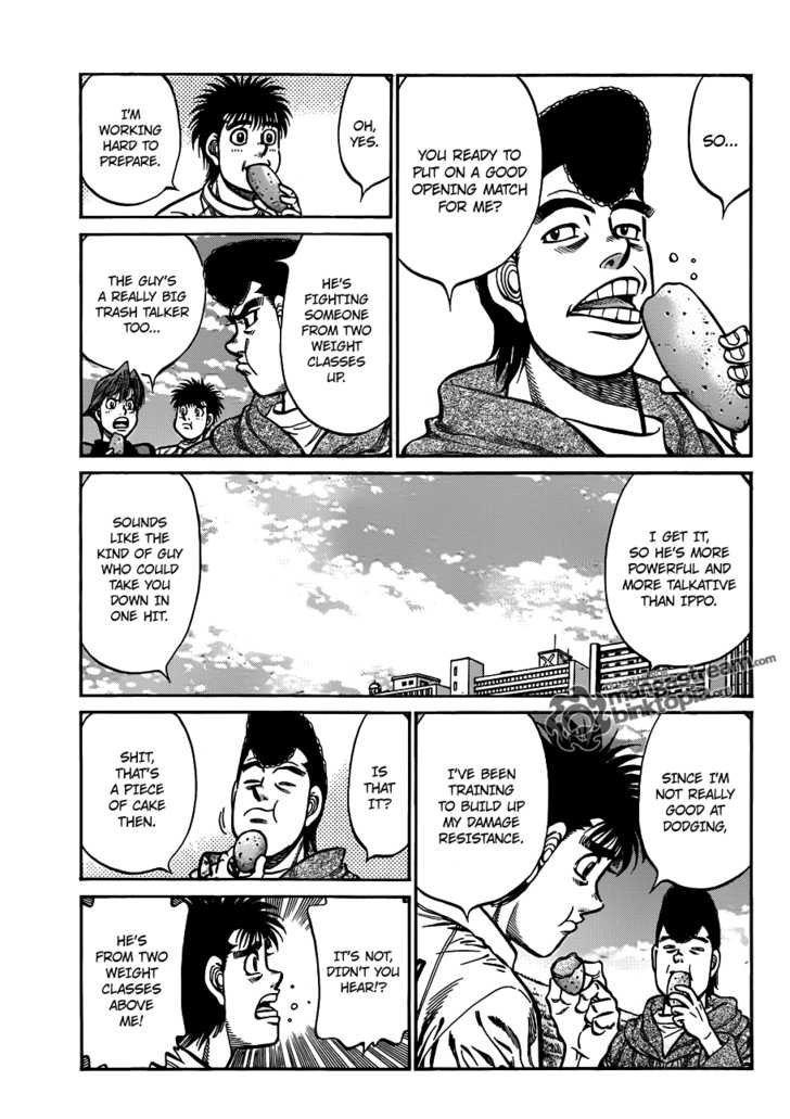 Hajime no Ippo - Chapter 924