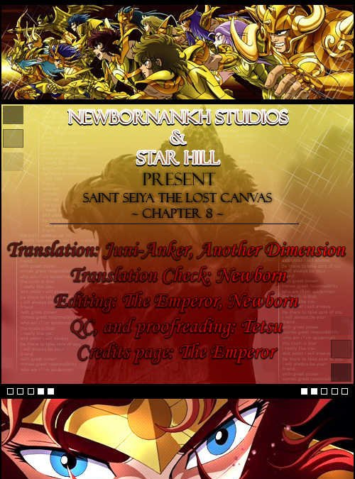 Saint Seiya - The Lost Canva Ch.8 page 1 at www.Mangago.me